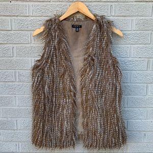 TCEC Faux Fur Vest